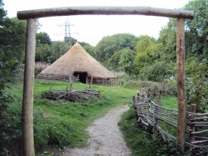 Replica Iron Age roundhouse at the Chiltern Open Air Museum. Photograph by Kim Biddulph.