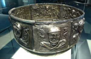 Gundestrup Cauldron. By Rosemania (http://www.flickr.com/photos/rosemania/4121249312) [CC BY 2.0 (http://creativecommons.org/licenses/by/2.0)], via Wikimedia Commons