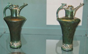 Basse-Yutz flagons. By British_Museum_Basse_Yutz_flagons.jpg: [CC0], via Wikimedia Commons
